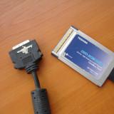 Cablu pcmcia dvd / hardisk extern Adaptor PCMCIA Toshiba unitate optica externa, Serial ATA/ SATA