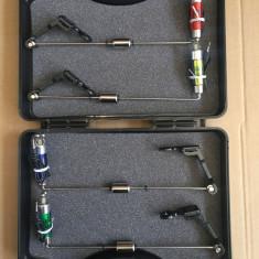 Set 4 swingere cu contragreutate si iluminare + valigeta transport