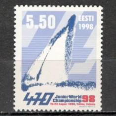 Estonia.1998 C.M. de yachting KX.200 - Timbre straine, Nestampilat