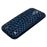 Carcasa Samsung Galaxy S4 i9501 i9500 I9505 I9508 + folie + stylus, Albastru, Alt material