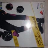 Pantaloni ciclism dama 3/4, noi, Crivit marimea S - Echipament Ciclism