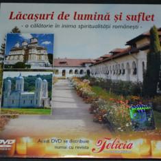 Lacasuri de lumina si suflet - Revista Felicia - DVD - Film documentare, Romana