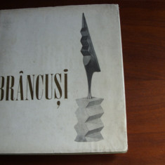 ALBUM BRANCUSI ( rar, format mai mare, cartonat ) * - Carte sculptura