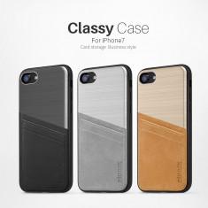 Husa iPhone 7 Classy Case by Nillkin Silver - Husa Telefon Nillkin, Argintiu, Fara snur, Carcasa