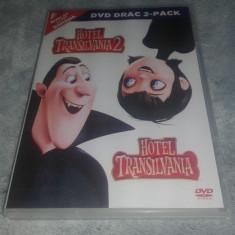 Hotel Transilvania si Hotel Transilvania 2 Animatii dublate in limba romana - Film animatie dream works, DVD