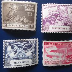 TIMBRE ANGLIA/COLONII MAURITIUS