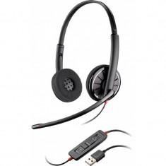 Casti Plantronics Blackwire C320-M Wideband Casca USB microfon +CADOU! - Casca PC Plantronics, Casti cu microfon