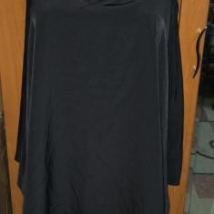 NOU Maieu lung negru asimetric bluza top de vara NEXT SIGNATURE TALL 42 L - Bluza dama H&m, Fara maneca, Casual