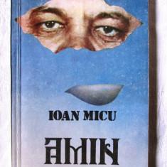 """""""AMIN cu breviar de calcul pentru medicina populara"""", Ioan Micu, 1992 - Carte Medicina alternativa"""