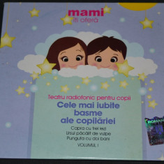 Teatru Radiofonic pentru copii - CD audio - Volumul 1 - Eurostar - Audiobook