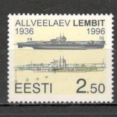"Estonia.1996 Submarinul ""Lembit""  KX.178, Nestampilat"