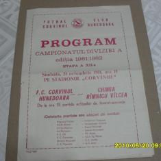 Program Corvinul Hd. - Chimia Rm. Valcea - Program meci