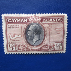 TIMBRE ANGLIA/COLONII CAYMAN ISLANDS, Nestampilat