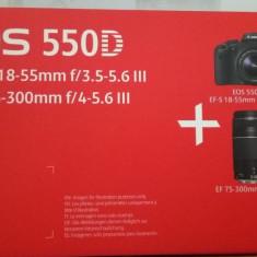 Aparat Foto DSLR Canon 550D - Aparat Foto Canon EOS 600D