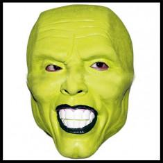 """Masca latex """"The mask"""" Jim Carrey Ipkiss Loki petrecere halloween cosplay +CADOU"""
