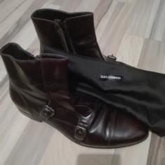 Pantofi dolce & gabbana luxury line - Pantofi barbat D&G, Marime: 40, Culoare: Maro