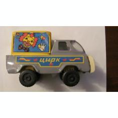 PVM - Masinuta circ veche perioada comunista URSS / tabla + plastic / RARA