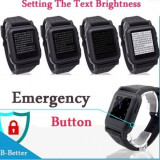 Ceas Mp4 Mp3,foto,video, 4GB , ebook smartwatch , buton panica