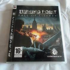 Joc Turning Point Fall of Liberty, PS3, original, alte sute de jocuri! - Jocuri PS3 Sony, Shooting, 16+, Single player