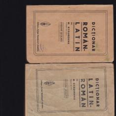 Dictionar latin roman Staureanu 1924