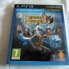 Joc Move Medieval Moves, original! Alte sute de jocuri! - Jocuri PS3 Sony, Sporturi, 12+, Multiplayer