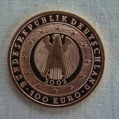 Moneda 100 euro 2002/2010 -15, 55 grame AUR 24k (200 lei/gram), Europa