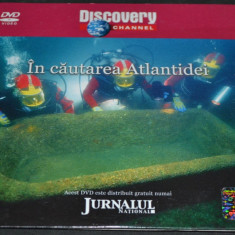In cautarea Atlantidei - DVD Discovery Channel - Film documentare discovery channel, Romana