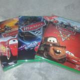 Disney Cars - Masini - 1, 2 si Povestirile lui Bucsa DVD dublat limba romana