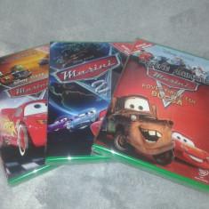 Disney Cars - Masini - 1, 2 si Povestirile lui Bucsa DVD dublat limba romana, disney pictures
