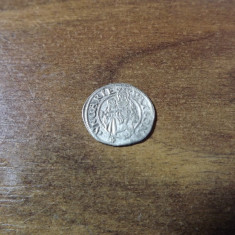 DENAR 1535, ARGINT - Moneda Medievala, Europa