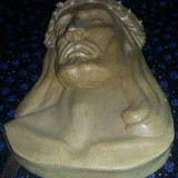 Scultura ISUS,Sculptura veche Isus Cristos,sculptura lemn veche