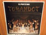 -Y-  PUCINI TURANDOT - BOX SET 3 VINILURI -