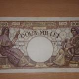 2000 Lei 2 Mai 1944 - Bancnota romaneasca