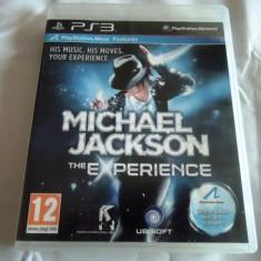 Joc Move Michael Jakson the Experience, original! Alte sute de jocuri! - Jocuri PS3 Ubisoft, Simulatoare, 12+, Multiplayer