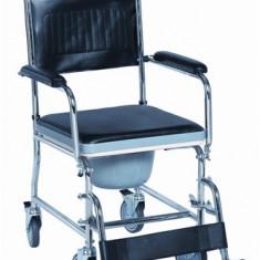 Scaun toaleta deluxe din otel - Articole ortopedice, Altele