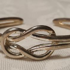 Bratara argint reglabila Splendida Superba de Efect vintage Masiva Impecabila