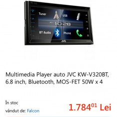 Vând sau schimb, multimedia player JVC. - DVD Player auto
