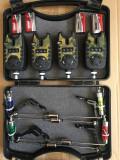 Set 4 avertizoare TLI 21 + 4 swingere cu iluminare si valigeta transport