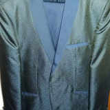 Costum barbatesc - Costum barbati, Marime: 48, Culoare: Bleumarin