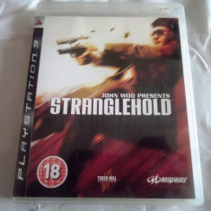 Joc Stranglehold, PS3, original, alte sute de jocuri! - Jocuri PS3 Altele, Shooting, 16+, Single player