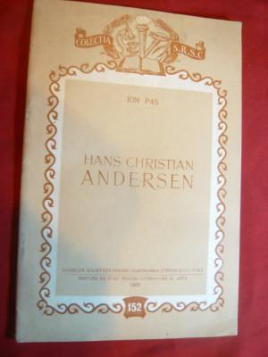 Ion Pas - Hans Christian Andersen - Ed. ESPLA 1955 foto
