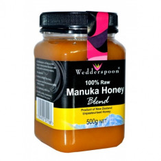 Miere de Manuka RAW Mix 500g, Wedderspoon - Condiment