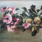 Natura statica cu flori (2) - semnat  Irenke