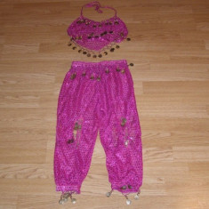 Costum carnaval serbare jasmine pentru copii de 7-8 ani, Marime: Masura unica, Culoare: Din imagine