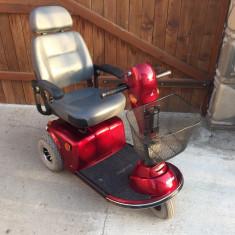 Scuter carut electric pentru persoane cu handicap batrani copii - Scaun cu rotile