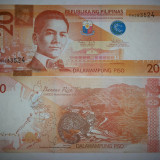 Filipine 20 Piso 2010 UNC - bancnota asia