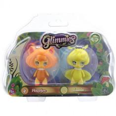Set Figurine Glimmies - Hazelyn si Lumix - Figurina Povesti Giochi Preziosi