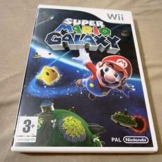 Super Mario Galaxy, Wii, original, alte sute de jocuri! - Jocuri WII Ubisoft, Actiune, 3+, Multiplayer