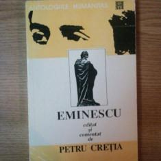 CONSTELATIA LUCEAFARULUI, SONETELE, SCRISORILE lui MIHAI EMINESCU EDITATE SI COMENTATE de PETRU CRETIA, 1994
