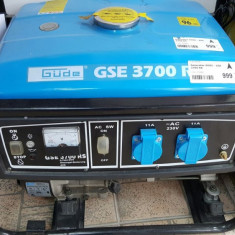 Generator curent benzina uz general GUDE GSE 3700 RS